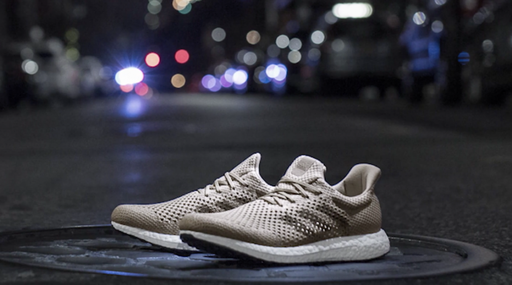 """new product 3f1fa 9053f The biodegradable prototype """"is meant to show where the industry can go.""""  Adidas has unveiled a new ..."""