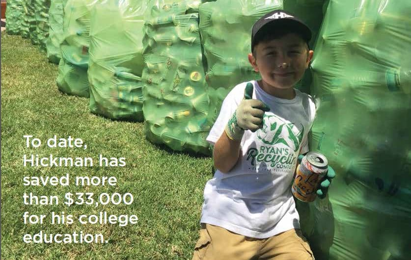 Student Recycles to Save Money for College - Diversity in Science,  Technology, Engineering, Arts and Math Magazine | Diversity In STEAM