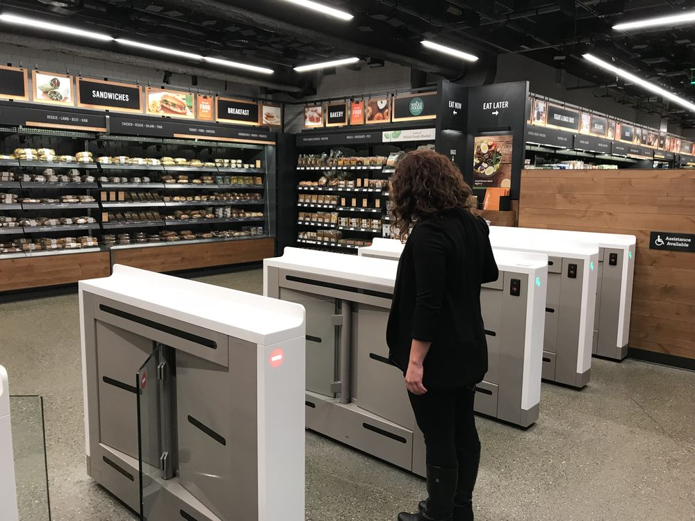 Amazon's automated grocery store of the future opens