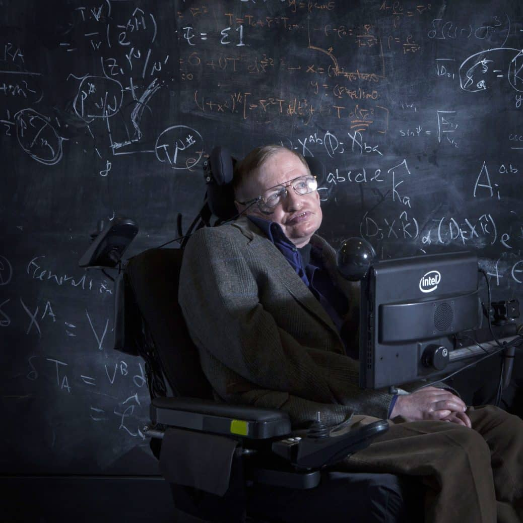 Famed Physicist Stephen Hawking Has Died at the Age of 76 ... Stephen Hawking