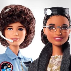 Barbies Sally Ride and Rosa Parks
