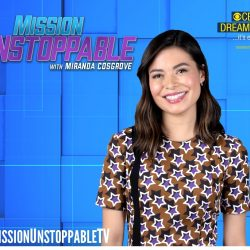 Miranda Cosgrove is featured on posted for Mission Unstoppable series