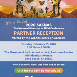 SACNAS Partner Reception